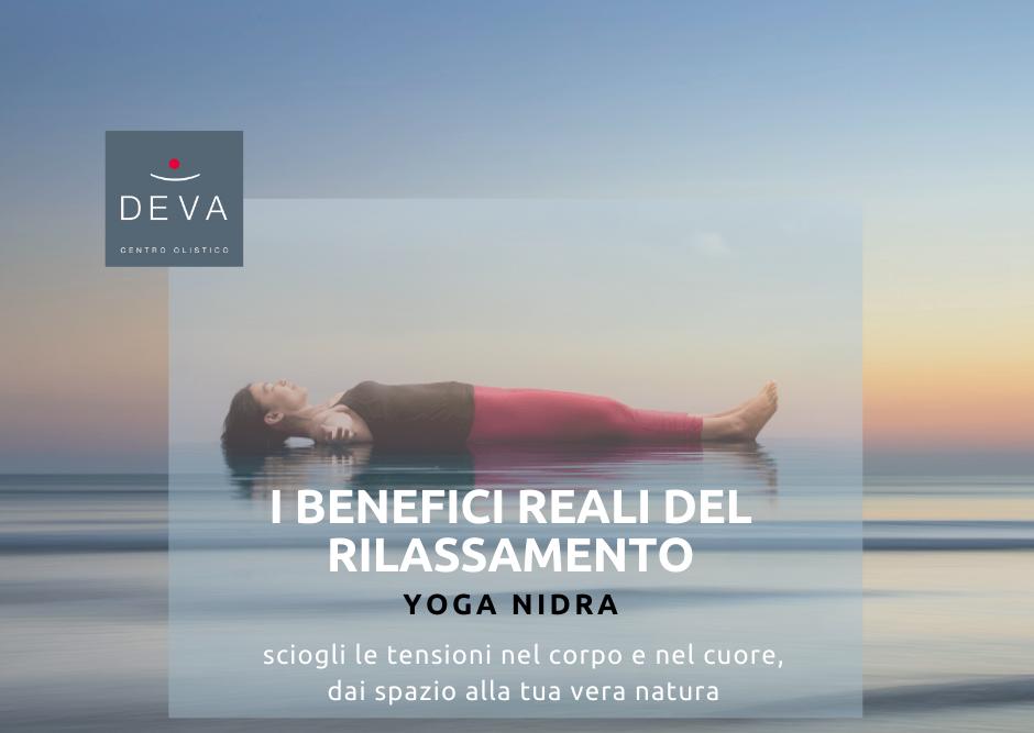 I BENEFICI REALI DEL RILASSAMENTO: percorso online di Yoga Nidra in 4 incontri